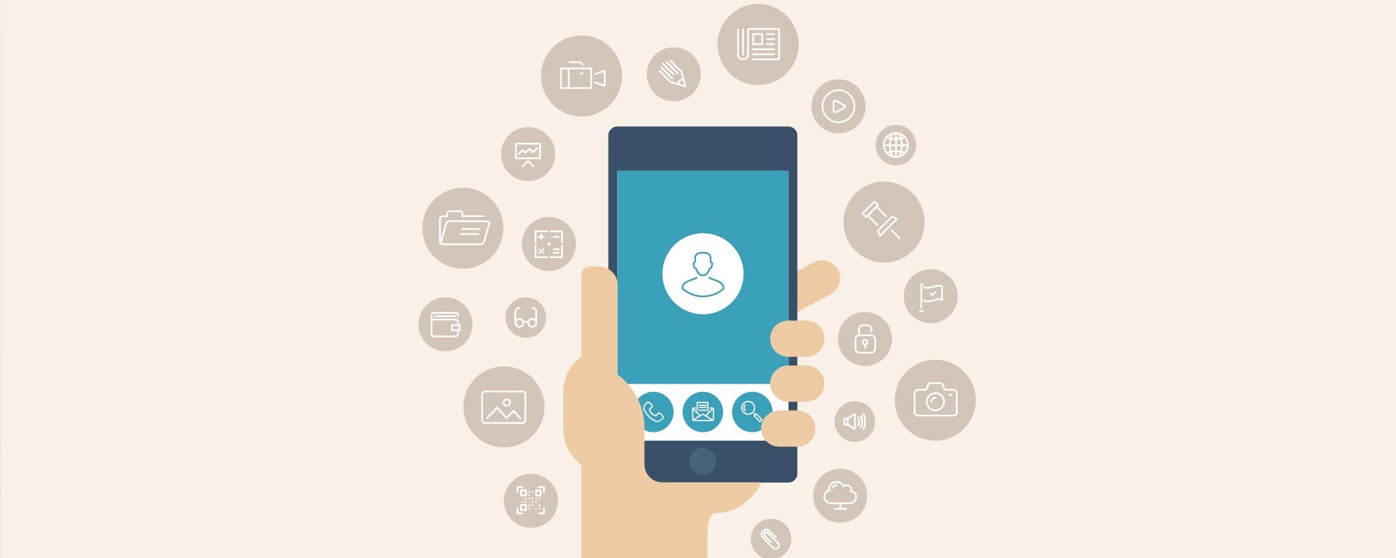 application mobile agence