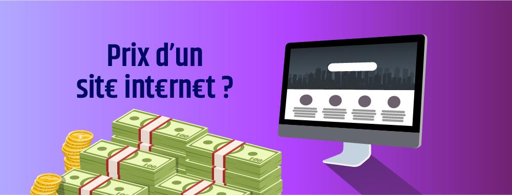 Quel est le prix d'un site internet?