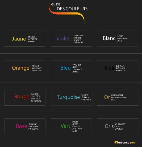 guide des couleurs